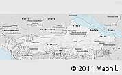 Silver Style Panoramic Map of Pursat