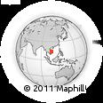 Outline Map of Ratana Kiri