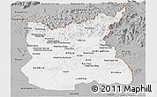 Gray Panoramic Map of Ratana Kiri