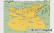 Savanna Style Panoramic Map of Ratana Kiri