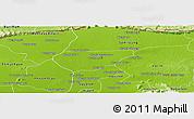 Physical Panoramic Map of Chong Kal