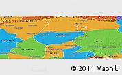 Political Panoramic Map of Chong Kal