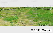 Satellite Panoramic Map of Chong Kal