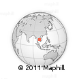 Outline Map of Pouk