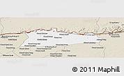 Classic Style Panoramic Map of Samroung