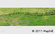 Satellite Panoramic Map of Samroung