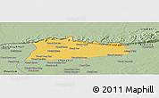 Savanna Style Panoramic Map of Samroung