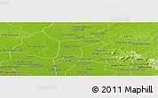 Physical Panoramic Map of Srey Snom