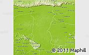 Physical 3D Map of Svey Leu