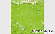 Physical Map of Svey Leu