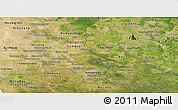 Satellite Panoramic Map of Svay Rieng