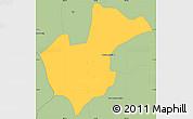Savanna Style Simple Map of Treang