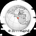 Outline Map of Bulkley-Nechako