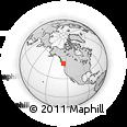 Outline Map of Comox-Strathcona