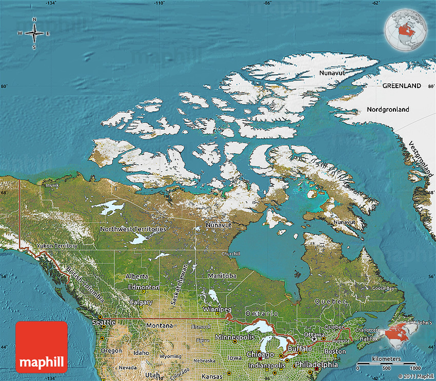 Satellite Map of Canada on canada water map, canada government map, canada elevation map, canada blank map, canada political map, canada map with provinces, canada surface map, canada transportation map, canada china map, canada state map, canada hd map, canada green map, canada geographical map, canada america map, canada road map, canada map map, canada google maps, canada fiber map, canada weather map, canada drought monitor map,