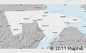 Gray Map of Westmorland