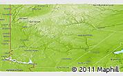 Physical Panoramic Map of York