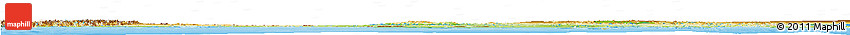 Physical Horizon Map of Nunavut