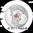 Outline Map of Nunavut