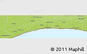Physical Panoramic Map of Elgin