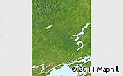 Satellite Map of Frontenac