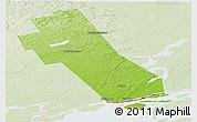 Physical Panoramic Map of Frontenac, lighten