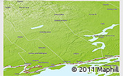 Physical Panoramic Map of Frontenac