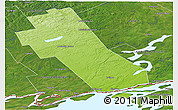 Physical Panoramic Map of Frontenac, satellite outside
