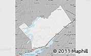 Gray Map of Leeds and Grenville