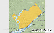 Savanna Style Map of Leeds and Grenville