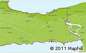 Physical 3D Map of Niagara