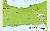 Physical Map of Niagara