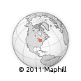 Outline Map of Perth
