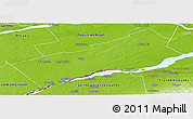 Physical Panoramic Map of Stormont, Dundas and Glengarry