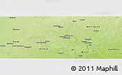 Physical Panoramic Map of Waterloo