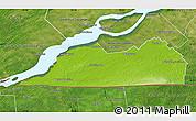 Physical Map of Le Haut-Saint-Laurent, satellite outside