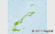 Physical Map of Les Îles-de-la-Madeleine