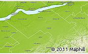 Physical 3D Map of Lotbiničre
