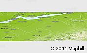 Physical Panoramic Map of Lotbiničre