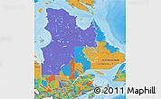 Political Map of Quebec