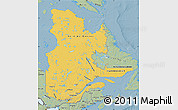 Savanna Style Map of Quebec