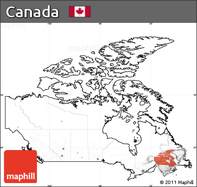 Map Of Canada No Labels.Free Blank Simple Map Of Canada Cropped Outside No Labels