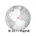 Outline Map of Maio