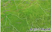 Satellite 3D Map of Ndele