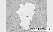 Gray 3D Map of Mingala