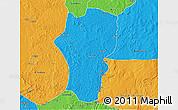 Political 3D Map of Mingala
