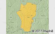 Savanna Style 3D Map of Mingala