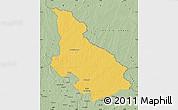 Savanna Style Map of Djemah