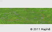 Satellite Panoramic Map of Obo