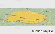 Savanna Style Panoramic Map of Obo